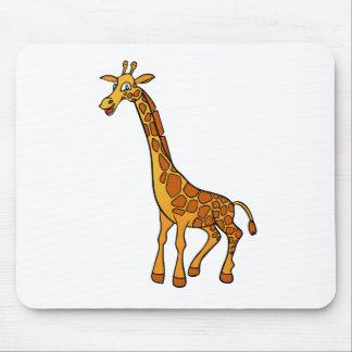 Cartoon Giraffe Mouse Pad