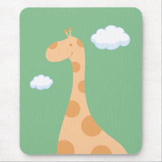 Cartoon Giraffe mousepad