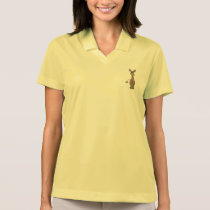 Cartoon Giraffe Polo Shirt