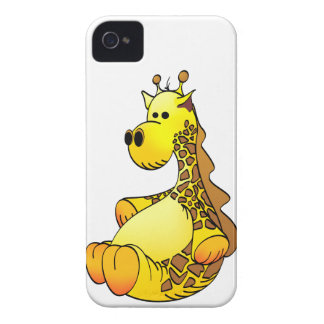 Cartoon Giraffe Stuffed Toy Refined iPhone 4 Case-Mate Case