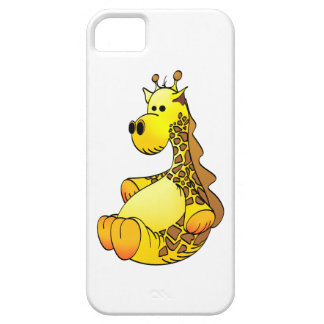 Cartoon Giraffe Stuffed Toy Refined iPhone SE/5/5s Case