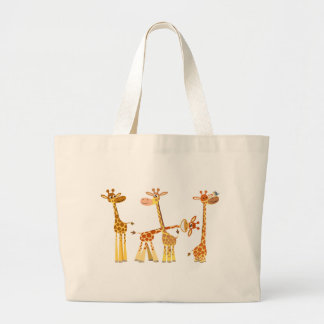 Cartoon Giraffes: The Herd bag