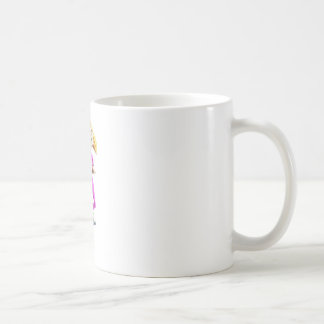 Cartoon Girl on a Pogo Stick Coffee Mug