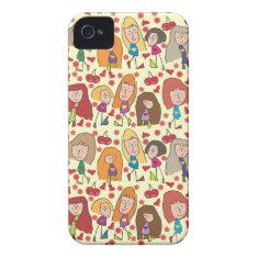 Cartoon Girls iPhone 5 Case
