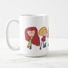 Cartoon Girls Mug