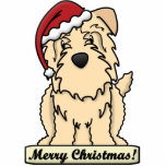 Cartoon Glen of Imaal Terrier Christmas Ornament Acrylic Cut Outs