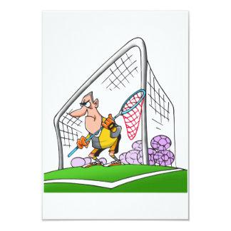 Cartoon Goalkeeper Invitations