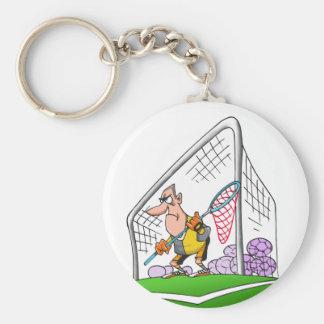 Cartoon Goalkeeper Keychain