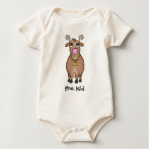 Cartoon Goat Baby Bodysuit