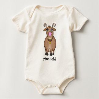 Cartoon Goat Baby Bodysuit