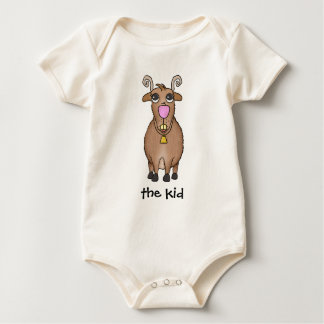 Cartoon Goat Baby Creeper