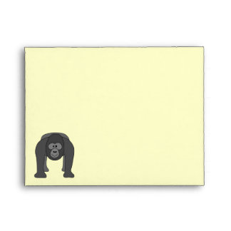 Cartoon Gorilla Envelope