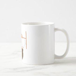 Cartoon Gorilla Small Dunking Coffee Mug
