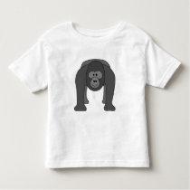 Cartoon Gorilla Toddler T-shirt
