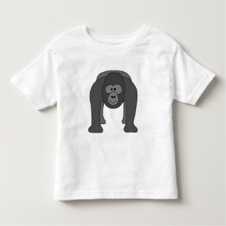 Cartoon Gorilla Toddler T-shirt