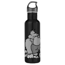 Cartoon Gorilla Water Bottle