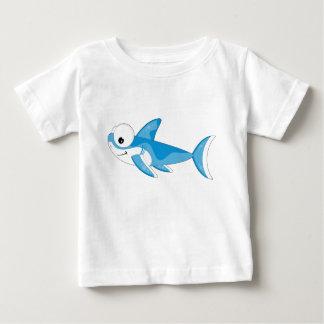 Cartoon Great White Shark Shirt