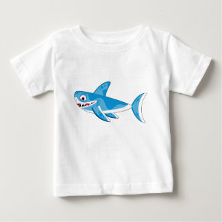 Cartoon Great White Shark Tee Shirt