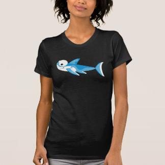 Cartoon Great White Shark Tshirt