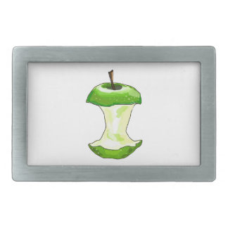 Cartoon Green Apple (Granny Smith) Apple Core Belt Buckle