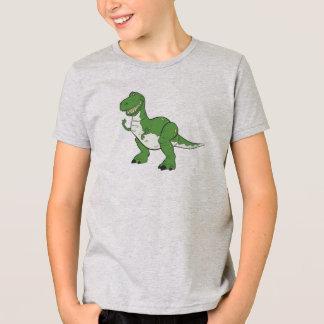 Cartoon Green Dinosaur Rex Disney T-Shirt