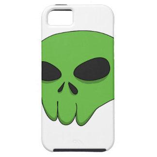 cartoon green skull iPhone SE/5/5s case