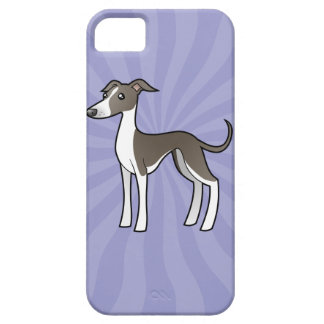 Cartoon Greyhound Whippet Italian Greyhound iPhone 5 Cover