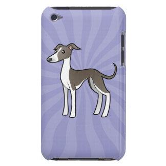 Cartoon Greyhound / Whippet / Italian Greyhound Case-Mate iPod Touch Case