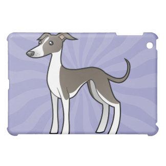 Cartoon Greyhound / Whippet / Italian Greyhound Cover For The iPad Mini