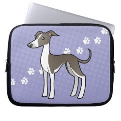 Neoprene Laptop Sleeve 10 inch with Greyhound Phone Cases design
