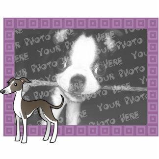 Cartoon Greyhound / Whippet / Italian Greyhound Statuette