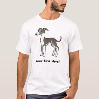 Cartoon Greyhound / Whippet / Italian Greyhound T-Shirt