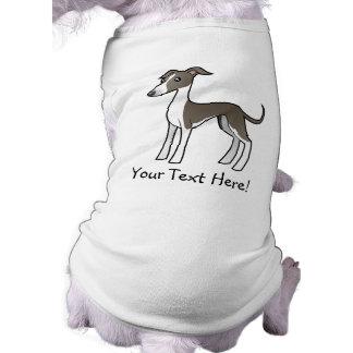 Cartoon Greyhound / Whippet / Italian Greyhound Tee