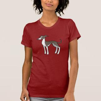 Cartoon Greyhound / Whippet / Italian Greyhound Tees