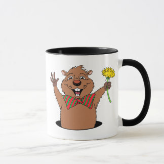 Cartoon Groundhog Mug
