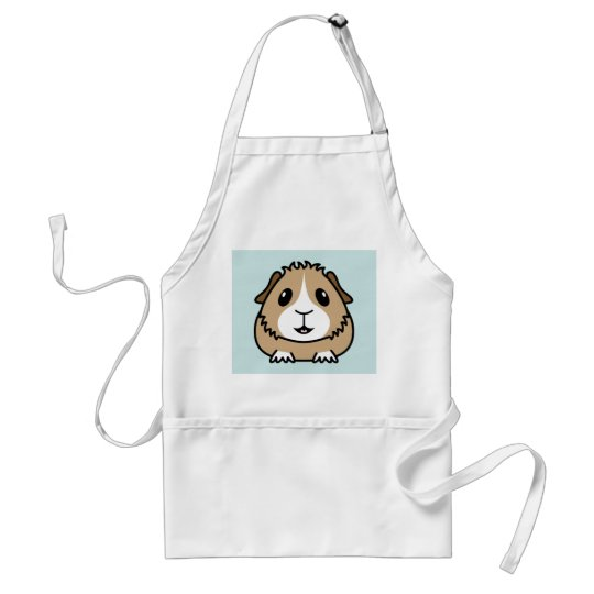 Cartoon Guinea Pig Apron