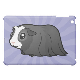 Cartoon Guinea Pig (long hair) iPad Mini Covers