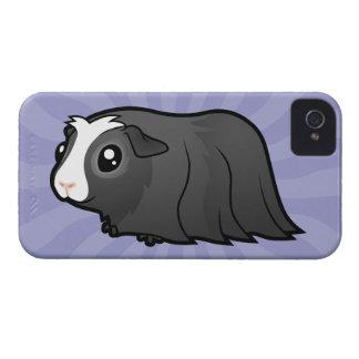 Cartoon Guinea Pig (long hair) iPhone 4 Case-Mate Case
