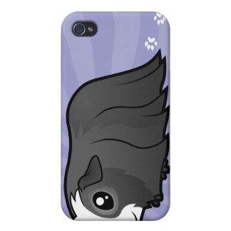 Cartoon Guinea Pig (long hair) iPhone 4/4S Covers