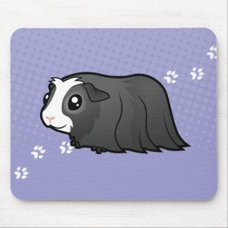 Cartoon Guinea Pig (long hair) Mouse Pad
