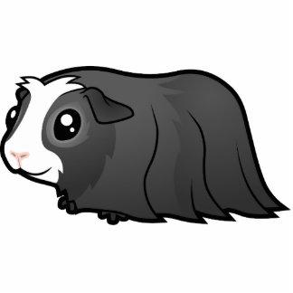Cartoon Guinea Pig (long hair) Photo Sculpture