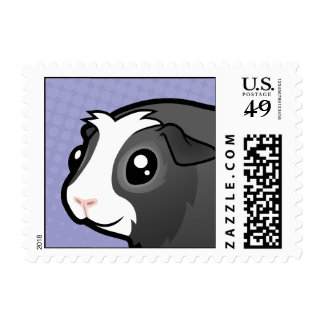 Cartoon Guinea Pig (long hair) Stamps