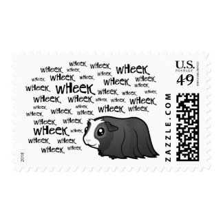 Cartoon Guinea Pig (long hair) Postage