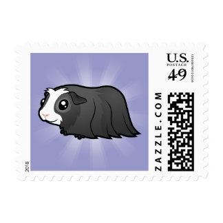 Cartoon Guinea Pig (long hair) Postage
