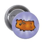 Cartoon Guinea Pig (scruffy) Button
