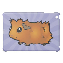 Cartoon Guinea Pig (scruffy) iPad Mini Case