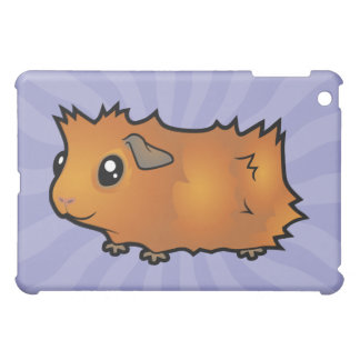 Cartoon Guinea Pig (scruffy) iPad Mini Cover