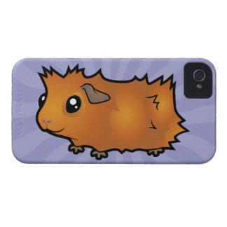 Cartoon Guinea Pig (scruffy) iPhone 4 Case-Mate Case