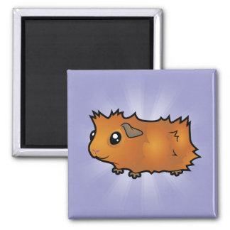 Cartoon Guinea Pig (scruffy) Fridge Magnet