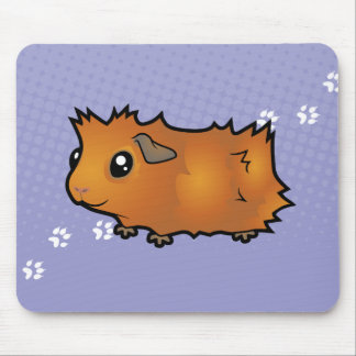 Cartoon Guinea Pig (scruffy) Mouse Pad
